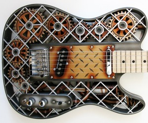 Stunning 3D Printed Guitars