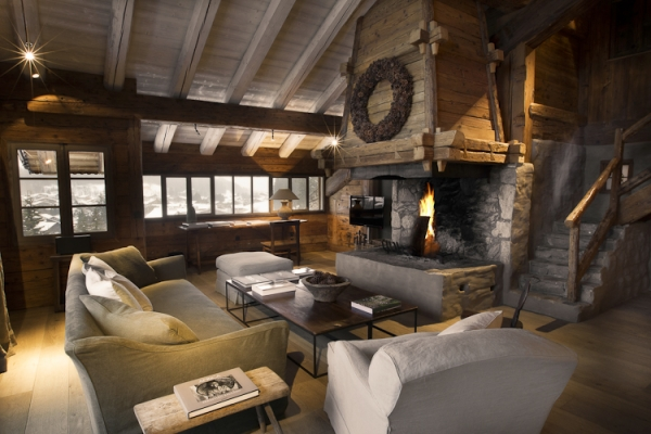 stunning chalet in the french alps. Black Bedroom Furniture Sets. Home Design Ideas