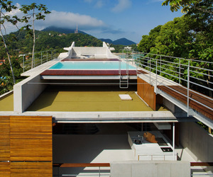 Stunning Concrete Home in Ubatuba by SPBR Arquitetos