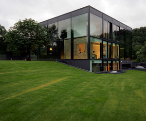 Stunning Glass House in Lithuania