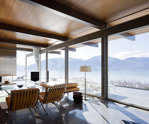 Stunning Lake Maggiore House by Richard Neutra