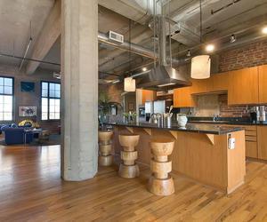 Stunning Loft in a Former Flour Mill in Denver