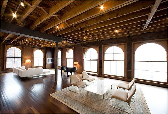 Stunning soho loft for Furniture stores nyc soho