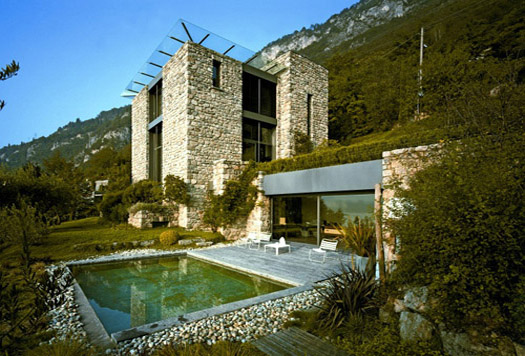 Stunning stone house in the mediterranean countryside for Mediterranean stone houses