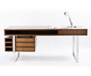 Stunning Walnut & Maple Desk