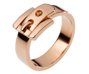 Stylish Brass Rings by Michael Kors