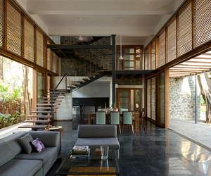 Stylish Eco-Friendly Home in Harmony with Nature