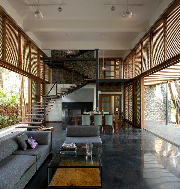 Home Design Ecological Ideas: Stylish Eco -Friendly Home In Harmony With Nature