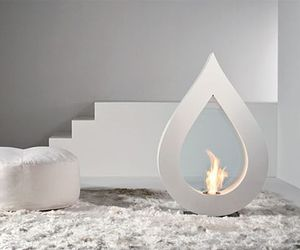 Stylish Fireplaces by Acquaefuoco