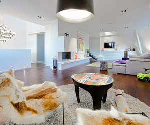 Stylish Triplex Penthouse in Stockholm