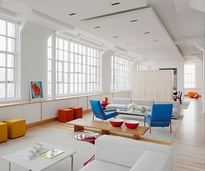 Stylish white apartment