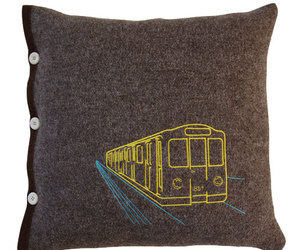 Subway Pillow