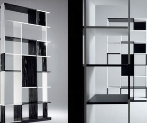 """Sudoku"" Bookshelf By Mario Bellini"