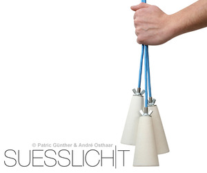 Suesslicht lamp by Voxel-Studio