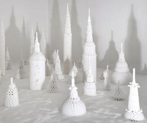 Sugarcube sculptures by artist Lionel Scoccimaro