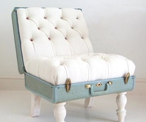 Suitcase Chair by Katie Thamspon