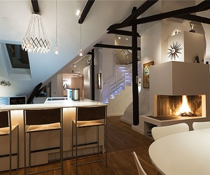 Sumptuous Swedish loft with Fascinating Decor
