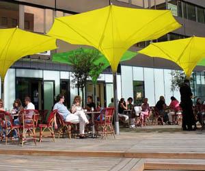 Sun Umbrella With LED Lights