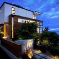 Sunset Hill with Lantern Center by Robin Chell Design