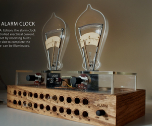 Super Cool Edison Alarm Clock