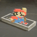 Super Mario 3D Chalk Art Time Lapse Video
