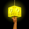 Super Mario Bros. 8-Bit Question Block Lamp