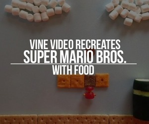 Super Mario Bros. Vine with Food