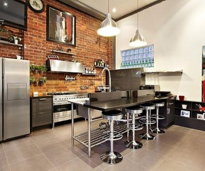 Abbotsford, Superb Brick Warehouse Conversion in Melbourne