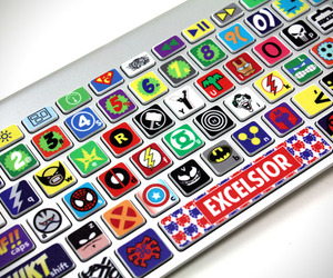 Superhero MacBook Keyboard