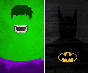 Superhero Minimalist Posters by Calvin Lin