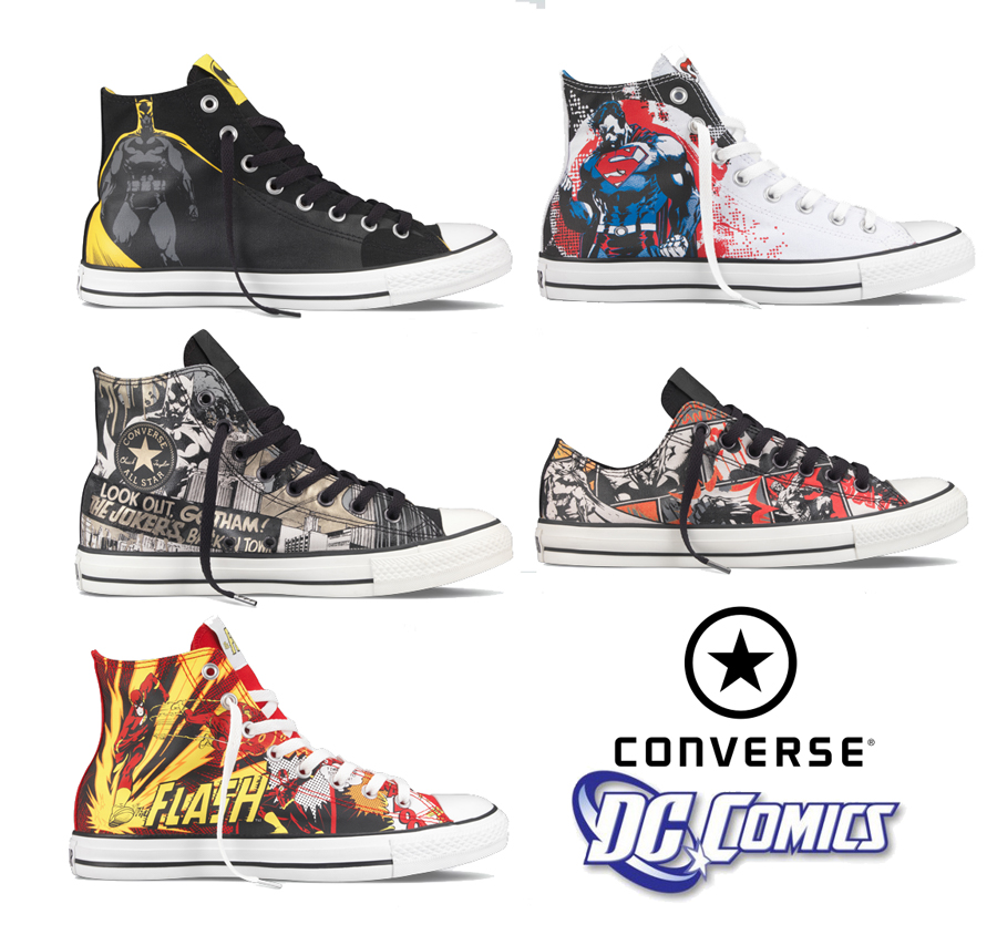 converse superhero collection