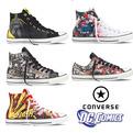 Superhero Sneakers. Converse X DC Comics