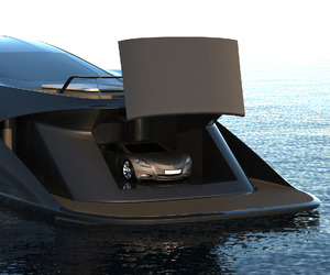 Superyacht Comes With Custom Supercar