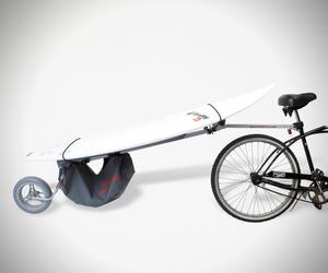 Surfboard Bike Rack by Wheele