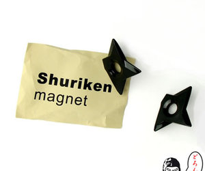 Suriken Magnet : Throwing Ninja Star Magnets