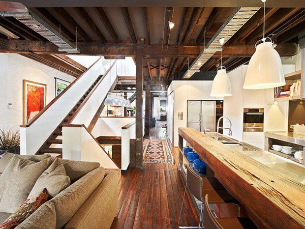 Surry Hills Warehouse Conversion Hare Klein Interiors