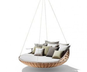 Suspended Swingrest Outdoor Seating by Dedon