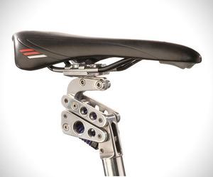 Suspension Bike Seat Post by BodyFloat