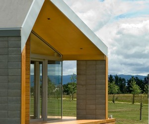 Sustainable Cornege-Preston House in New Zealand