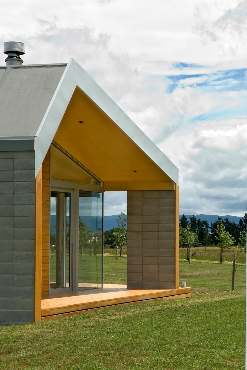 Sustainable cornege preston house in new zealand for Preston house
