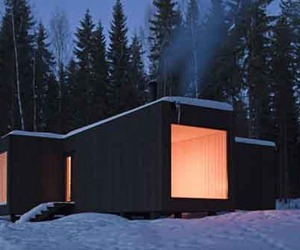 Sustainable Design of Four-cornered Villa