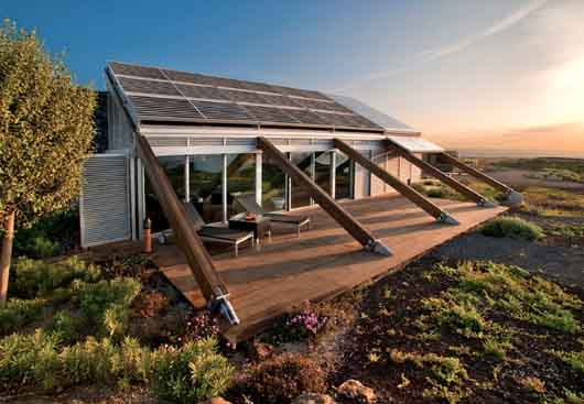 Sustainable design of house in canary islands for Sustainable homes design