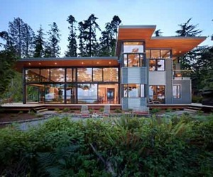 Sustainable Design of Port Ludlow Residence