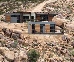 Sustainable Design of Prefab Joshua Tree Desert Home