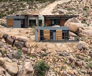 Sustainable Design of Prefab Joshua Tree Desert Home