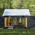 Sustainable Design of Week'nder Prefab by Lazor Office