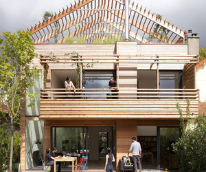 PreFab Eco-House in Paris by Djuric Tardio Architects