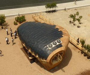 Sustainable FabLab House by IaaC