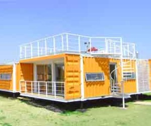Sustainable House from Shipping Containers, Liray House