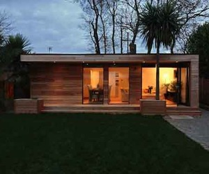 Sustainable Prefab Garden Home by in.it.studios